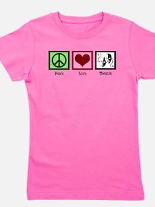 Peace Love Theatre Girl's Tee
