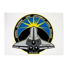 STS-132 Atlantis 5'x7'Area Rug