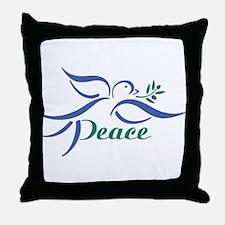 Dove Peace Throw Pillow