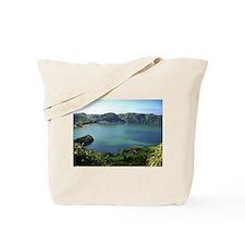Sete Cidades Lagoon in S. Miguel, Azores Tote Bag