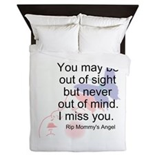 Never Out Of Mind Queen Duvet