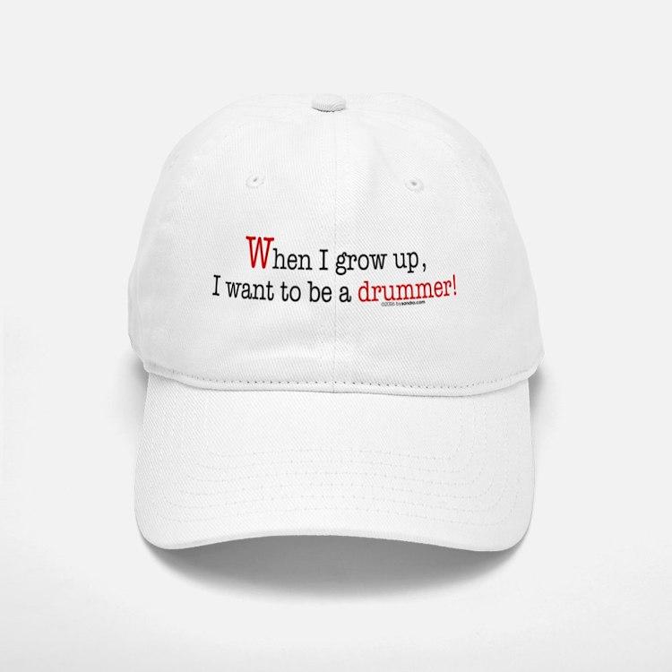 ... a drummer Baseball Baseball Cap
