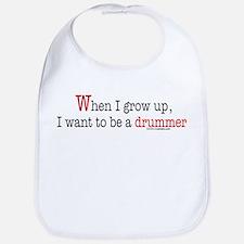 ... a drummer Bib