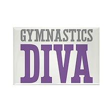 Gymnastics DIVA Rectangle Magnet (10 pack)
