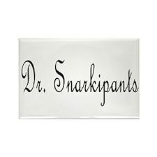 Dr. Snarkipants Rectangle Magnet