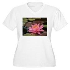 Serenity: Water Lily Plus Size T-Shirt