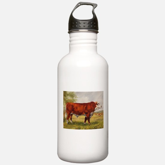 Hereford Bull The Champion Water Bottle
