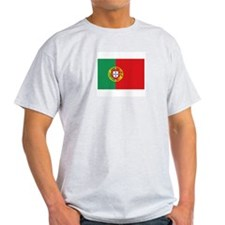 Portugal Ash Grey T-Shirt