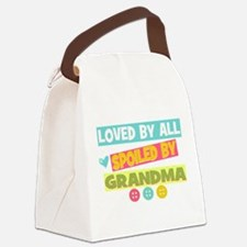 Loved By All Canvas Lunch Bag