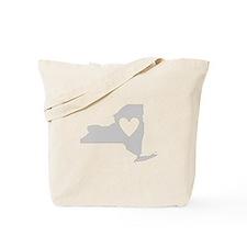 Heart New York Tote Bag