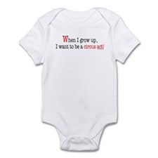 ... a circus act Infant Bodysuit