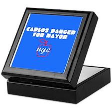 Carlos Danger For Mayor Keepsake Box