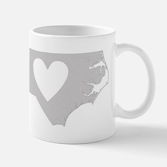 Heart North Carolina Mug