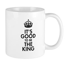 It's Good to Be the King Royal Baby Design Small Mugs