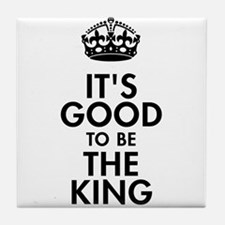 It's Good to Be the King Royal Baby Design Tile Co