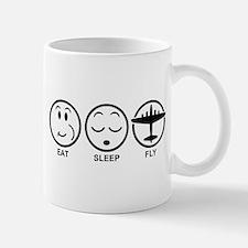 Eat Sleep Fly Small Small Mug