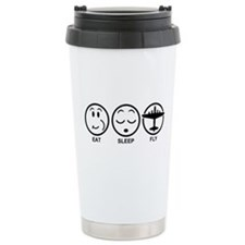 Eat Sleep Fly Travel Mug