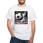 footb White T-Shirt