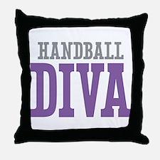 Handball DIVA Throw Pillow