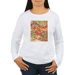 Flat Arizona Women's Long Sleeve T-Shirt