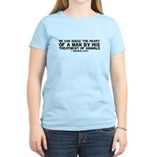quote_kant_animals_white T-Shirt
