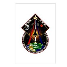 STS-129 Cloth Postcards (Package of 8)
