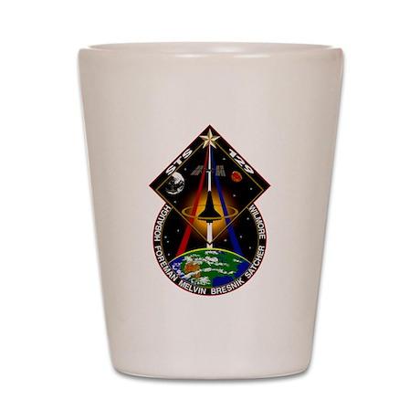 STS-129 Print Shot Glass