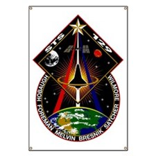 STS-129 Cloth Banner