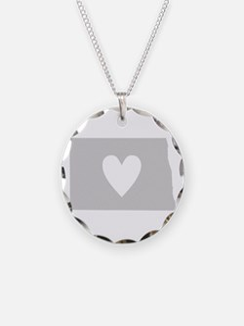 Heart North Dakota Necklace