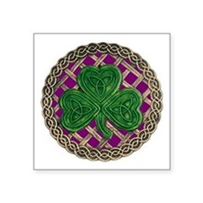 Shamrock And Celtic Knots Sticker
