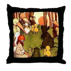 Attwell 4 Throw Pillow