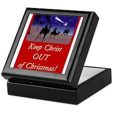 Keep Christ OUT of Christmas! Keepsake Box