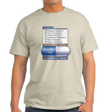 Fukitol Ash Grey T-Shirt