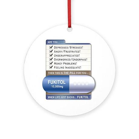 Fukitol Ornament (Round)