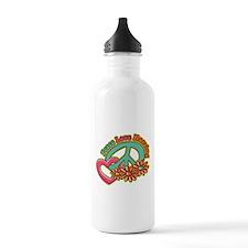 Peace Love Nursing Water Bottle