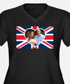Royal Baby - William Kate Plus Size T-Shirt