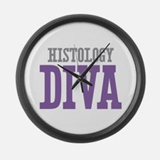 Histology DIVA Large Wall Clock