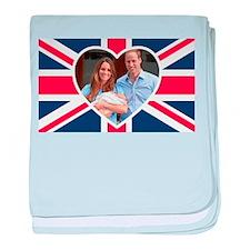 Royal Baby - William Kate baby blanket