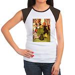 Attwell 4 Women's Cap Sleeve T-Shirt