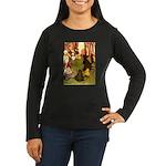 Attwell 4 Women's Long Sleeve Dark T-Shirt