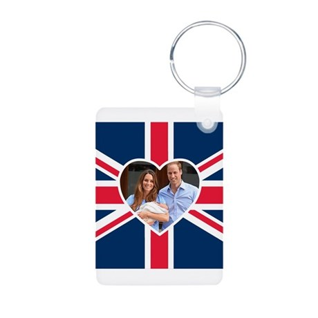 Royal Baby - William Kate Keychains