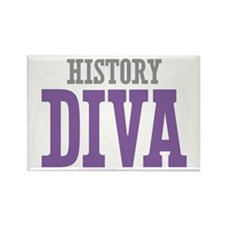 History DIVA Rectangle Magnet