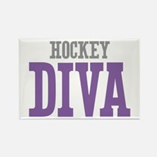 Hockey DIVA Rectangle Magnet (10 pack)