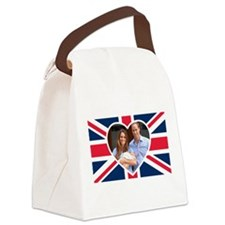 Royal Baby - William Kate Canvas Lunch Bag