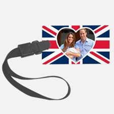 Royal Baby - William Kate Luggage Tag
