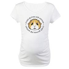 Crazy Guinea Pig Woman Shirt