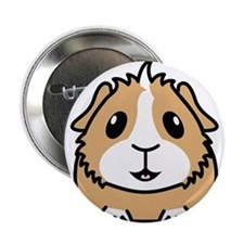 "Happy Guinea Pig 2.25"" Button"
