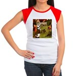 Attwell 5 Women's Cap Sleeve T-Shirt