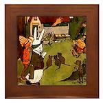 Attwell 5 Framed Tile