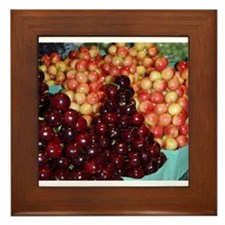 Granville Island Farmers Market: Cherries Framed T